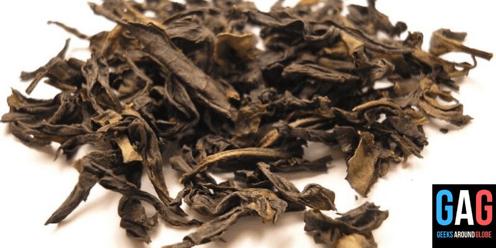 Oxidized Tea - 4 types of tea