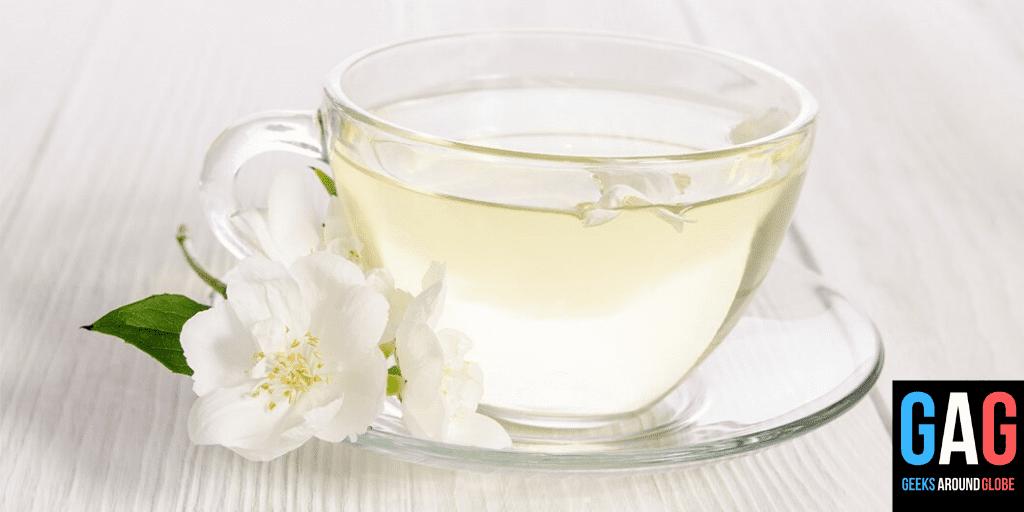 white tea - 4 types of tea