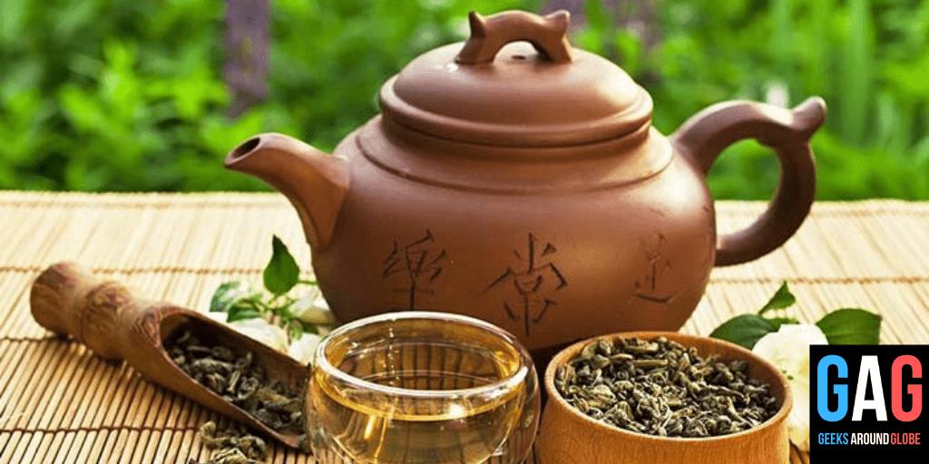 Oolong tea - 4 types of tea