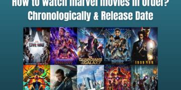 Marvel Movies Watch Order