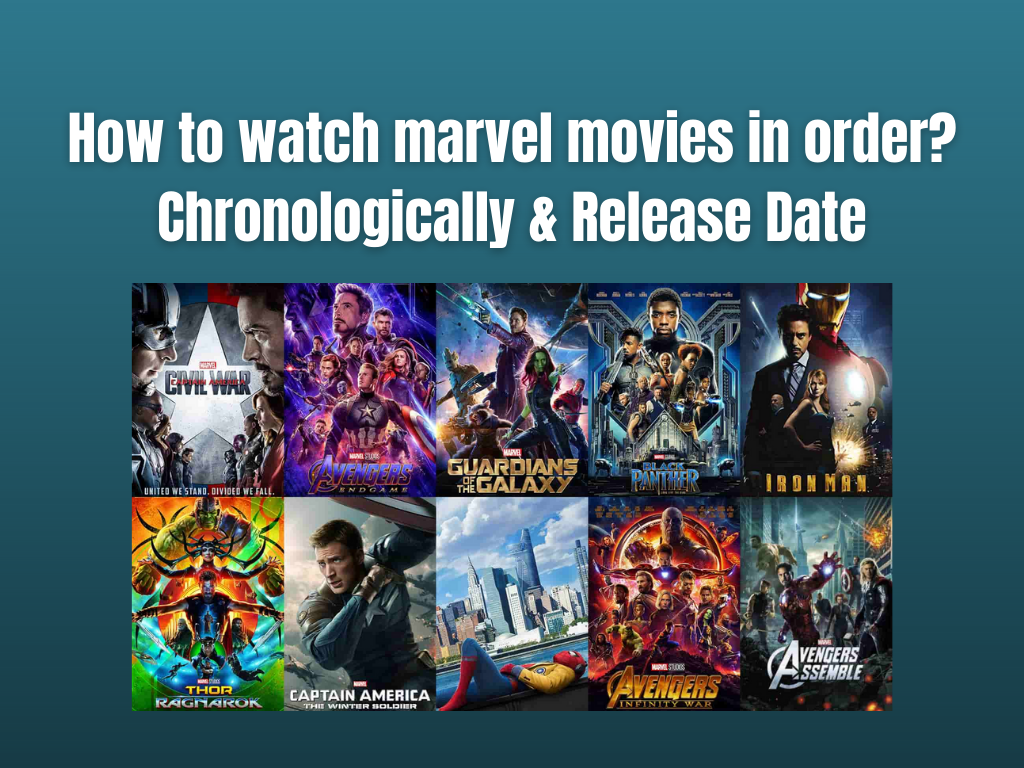 How to watch marvel movies in order?Chronologically & Release Date
