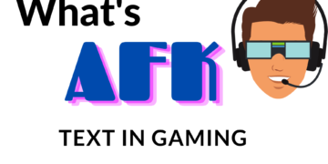 This abbreviation is used in gaming by many online multiplayer gamers. This means that if one is AFK, then that means he is inactive on the game.
