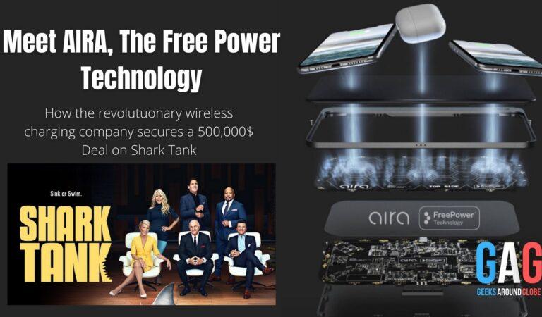 Meet Aira! The future of wireless charging. [As seen on Shark Tank]