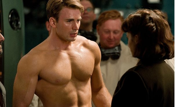 People are now freaking out as Chris Evans shows his body covered in Tattoos.[VIDEO]