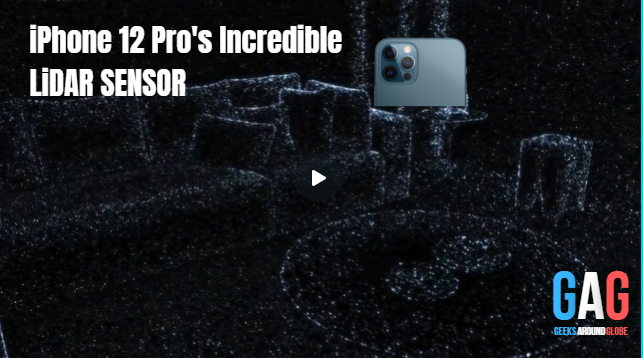 NASA's Lidar is now on your iPhone 12 Pro.