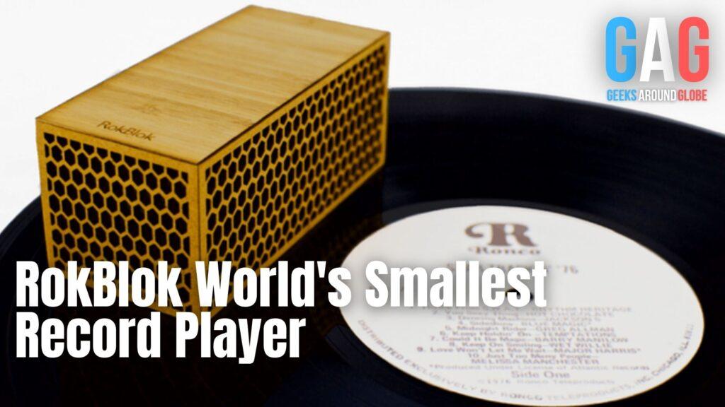 RokBlok World's Smallest Record Player What happens after SharkTank?