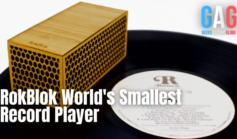 RokBlok World's Smallest Record Player What happens after SharkTank?