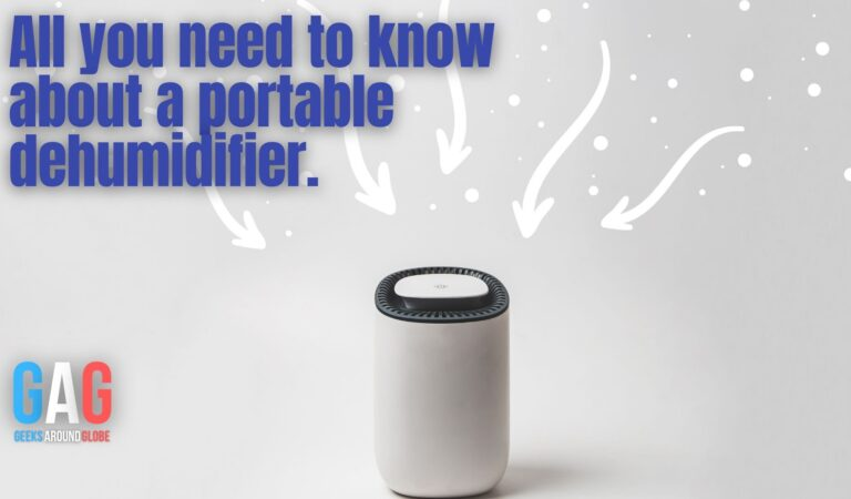 Let's know about a portable dehumidifier.
