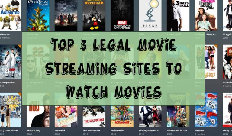 Top 3 Free Streaming Movie Sites in 2021