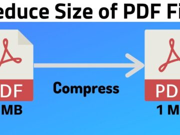 compress PDF file
