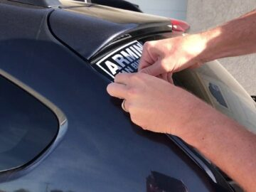 How to Remove car Decals without Damaging the Surface