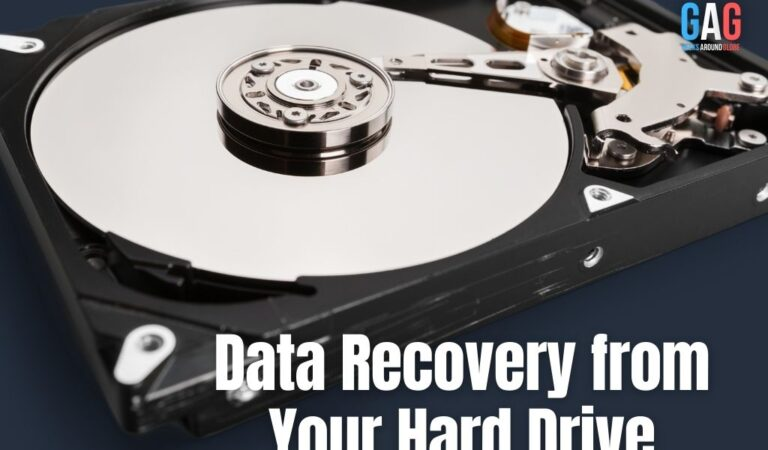 Data Recovery from Your Hard Drive