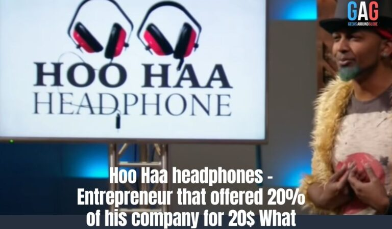 Hoo Haa headphones – Entrepreneur that offered 20% of his company for 20$ What happened?