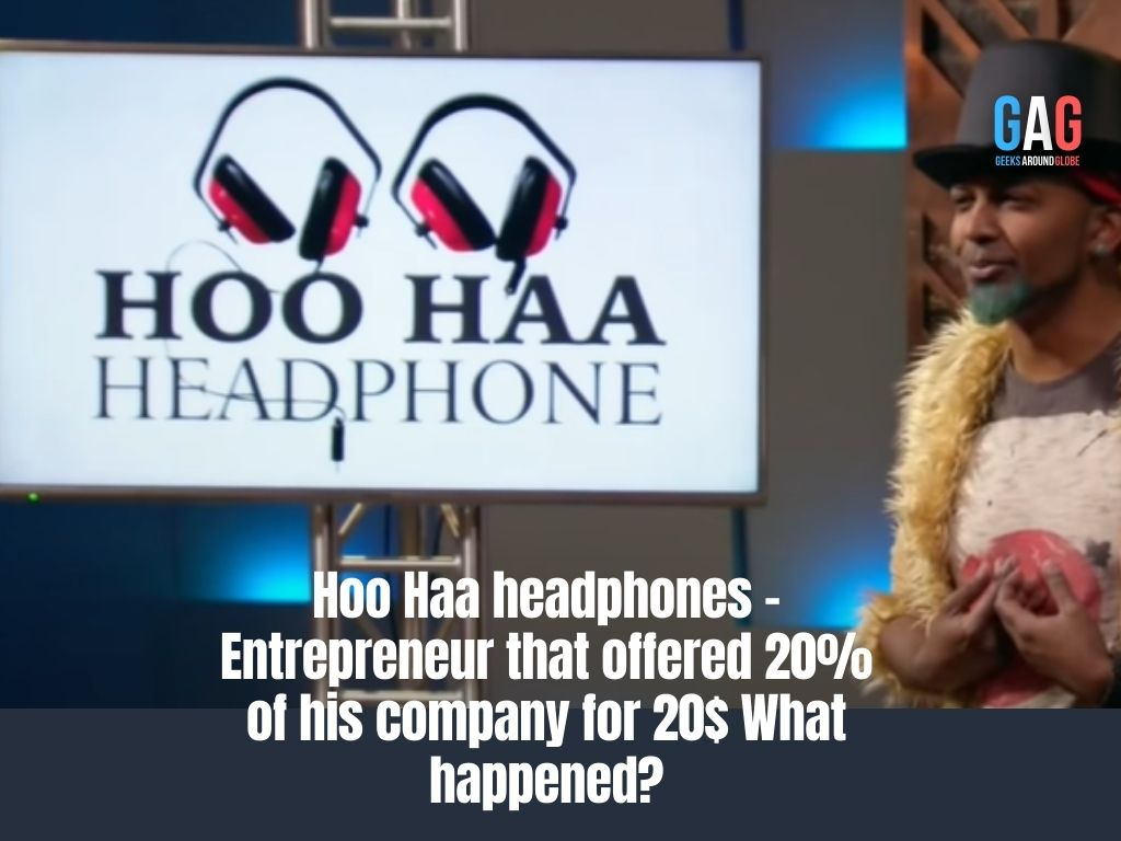 Hoo Haa headphones - Entrepreneur that offered 20% of his company for 20$ What happened?