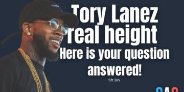 tory lanez height