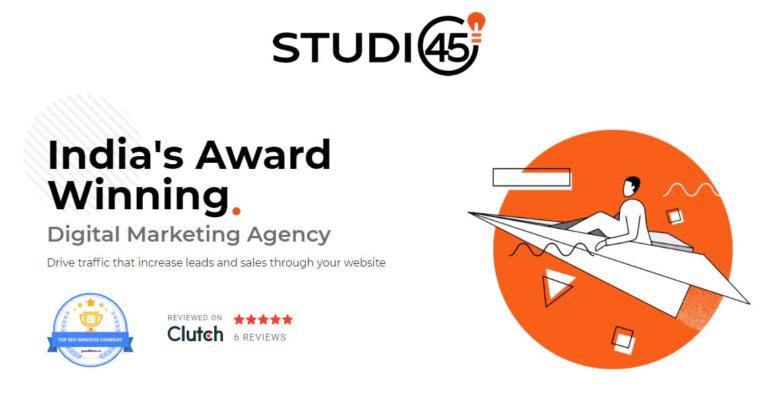 Studio45 - SEO Company in India