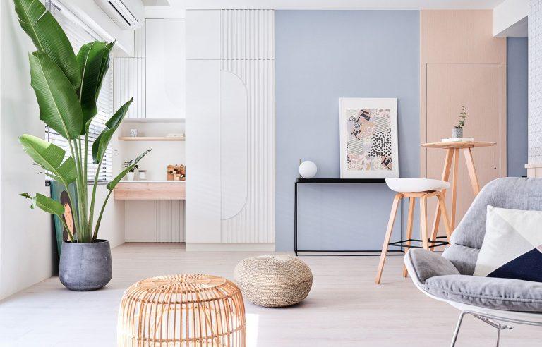 Where do interior designers work