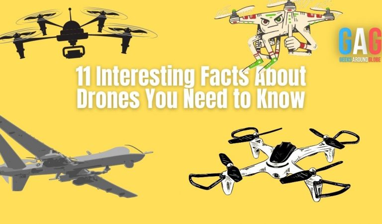 11 Interesting Facts About Drones You Need to Know