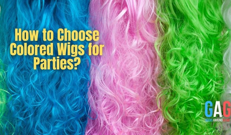 How to Choose Colored Wigs for Parties?