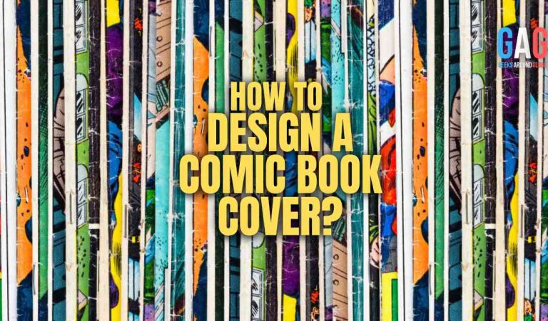 How to design a comic book cover?