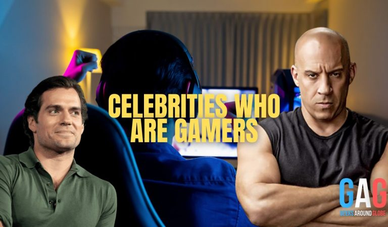 Celebrities Who Are Gamers