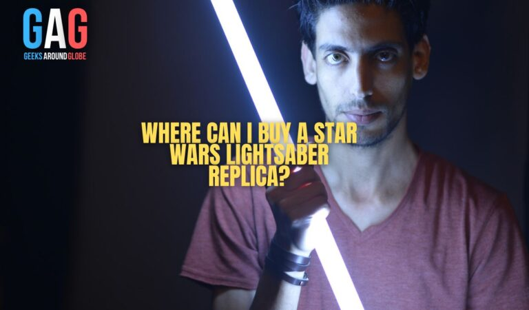 Where can I buy a Star Wars lightsaber replica?
